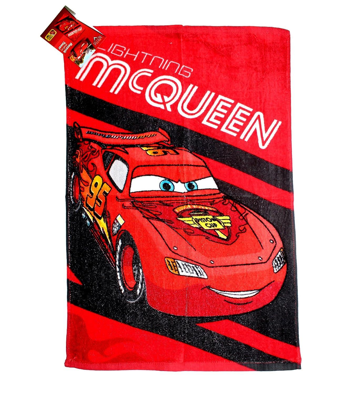 Asciugamano bambino DISNEY CARS Saetta McQueen scuola asilo piscina
