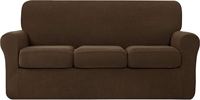 Hokway 4 Piece Couch Cover