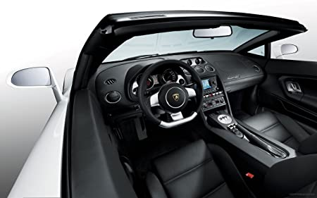 Lamborghini Gallardo Spyder Interior 8x10 Photo Amazon Co Uk