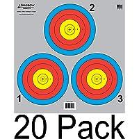 Archery 5 Spot & 3 Spot Vegas Targets por Longbow 8, 20, 50 y 200 Paquetes