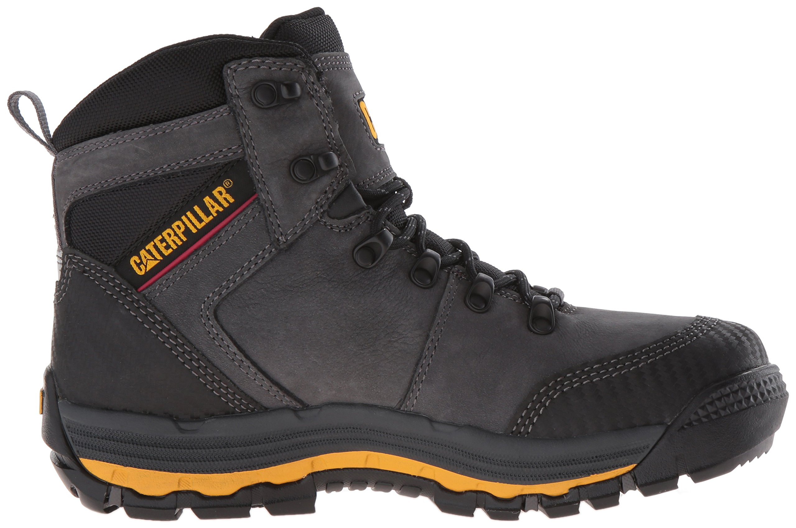 Caterpillar Men's Munising 6'' Waterproof Industrial and Construction Shoe, Dark Shadow, 13 M US by Caterpillar (Image #7)
