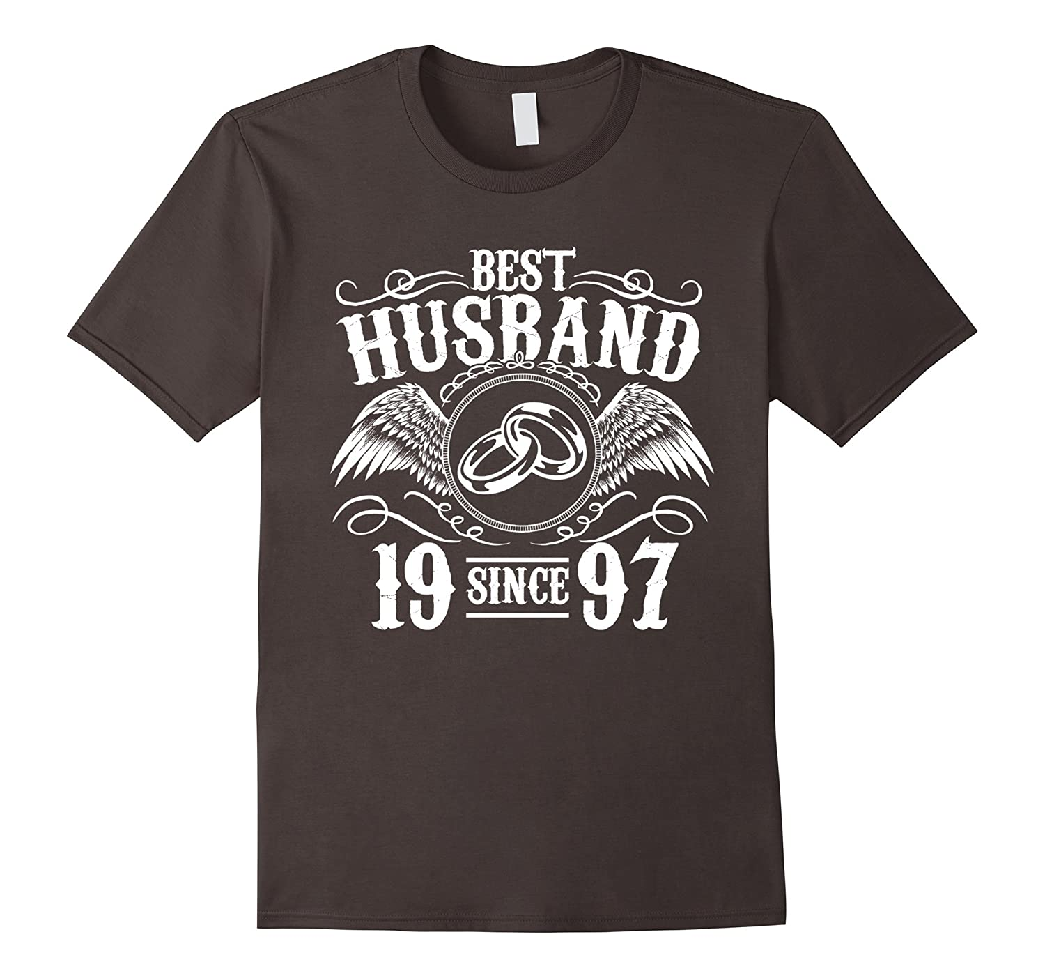 Great Wedding Gift For Husband: Great T-Shirt For Husband. 20th Wedding Anniversary Gift
