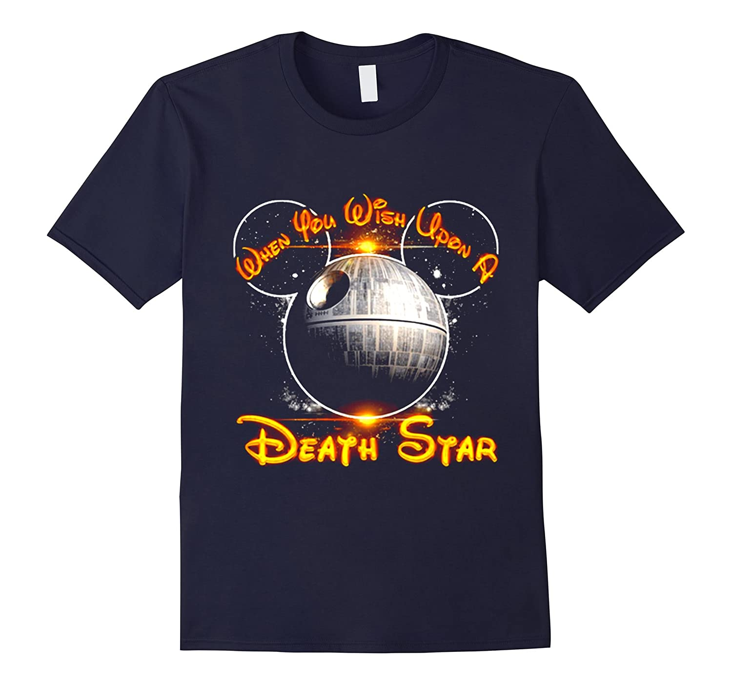 When You Wish Upon A Death Star T-Shirt-TD