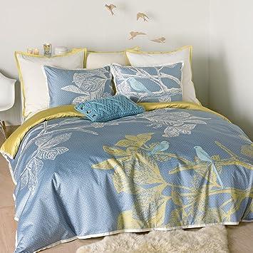 Bliss Living Home Isländische Dream Bettwäsche Set Baumwolle Blau