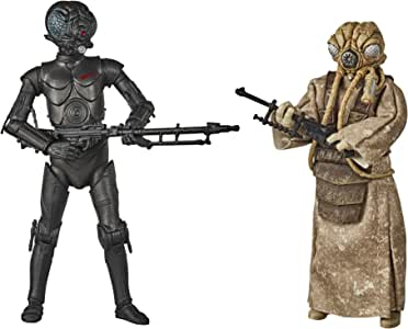 "Star Wars Black Series - 4 LOM & Zuckuss 6"" Action Figure 2 Pack - Star Wars: The Empire Strikes Back - Kids toys & collectible figures - Ages 4+"