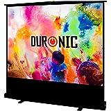 Duronic FPS80 /43 Ecran de projection à piètement/autoportatif de 80 pouces 4:3/163 x 122 cm - 4K Full HD 3D Gain 1.0 - Idéal pour Home cinéma/Présentations / écoles/évènements / meetings