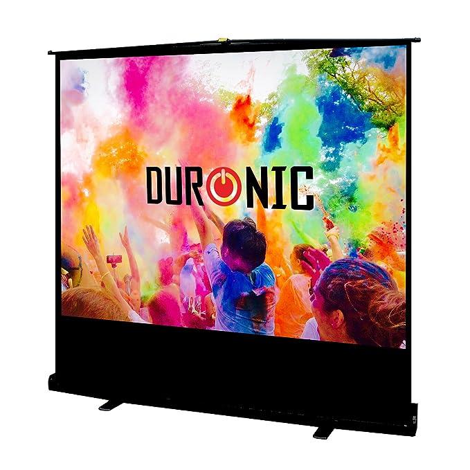 """1 opinioni per Duronic FPS80 /43- Schermo di proiezione HD bianco opaco in tela, 80"""" 4:3 / 163"""