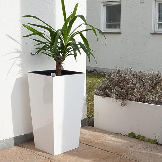 Stylische Blumentöpfe blumentopf gro innen free blumenkbel garden anthrazit with