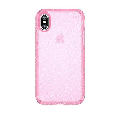 Speck iPhone XS Presidio Clear + Glitter Case