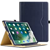 MoKo Case for iPad 9.7 2018/2017 - Slim Folding Stand Folio Cover Case for Apple iPad 9.7 Inch (iPad 5, iPad 6) with Document Card Slots, Multiple Viewing angles, INDIGO