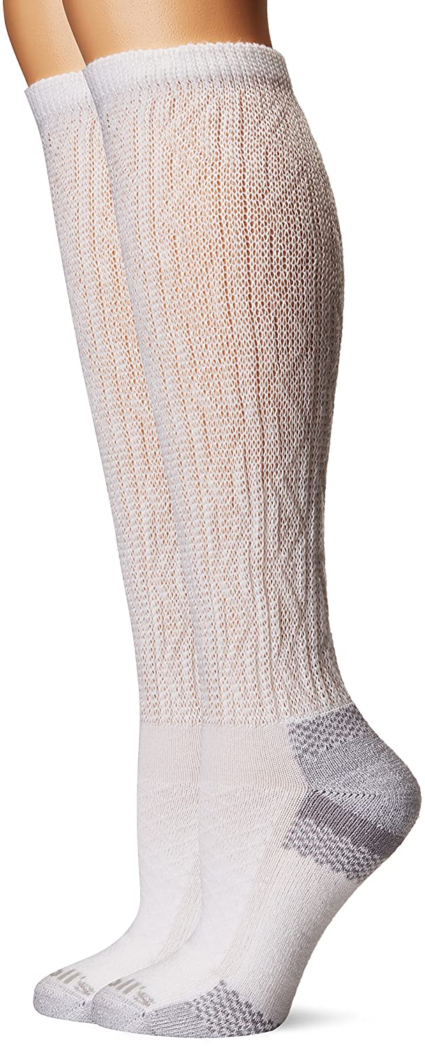 Dr. Scholl's womens standard Advanced Relief 2-pair Knee High Socks Denim/Grey Shoe Size: 4-10 (Medium) Dr. Scholl' s DSL-256-2-4T-WEB