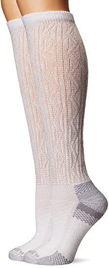 Dr Scholl S Women S Advanced Relief 2 Pair Knee High Socks White