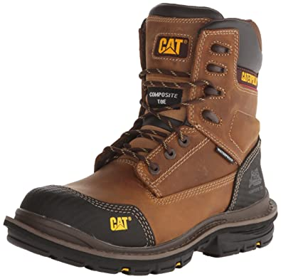 238273e8fcf Caterpillar Men's Fabricate 8 Inch Tough Waterproof Comp Toe Work Boot