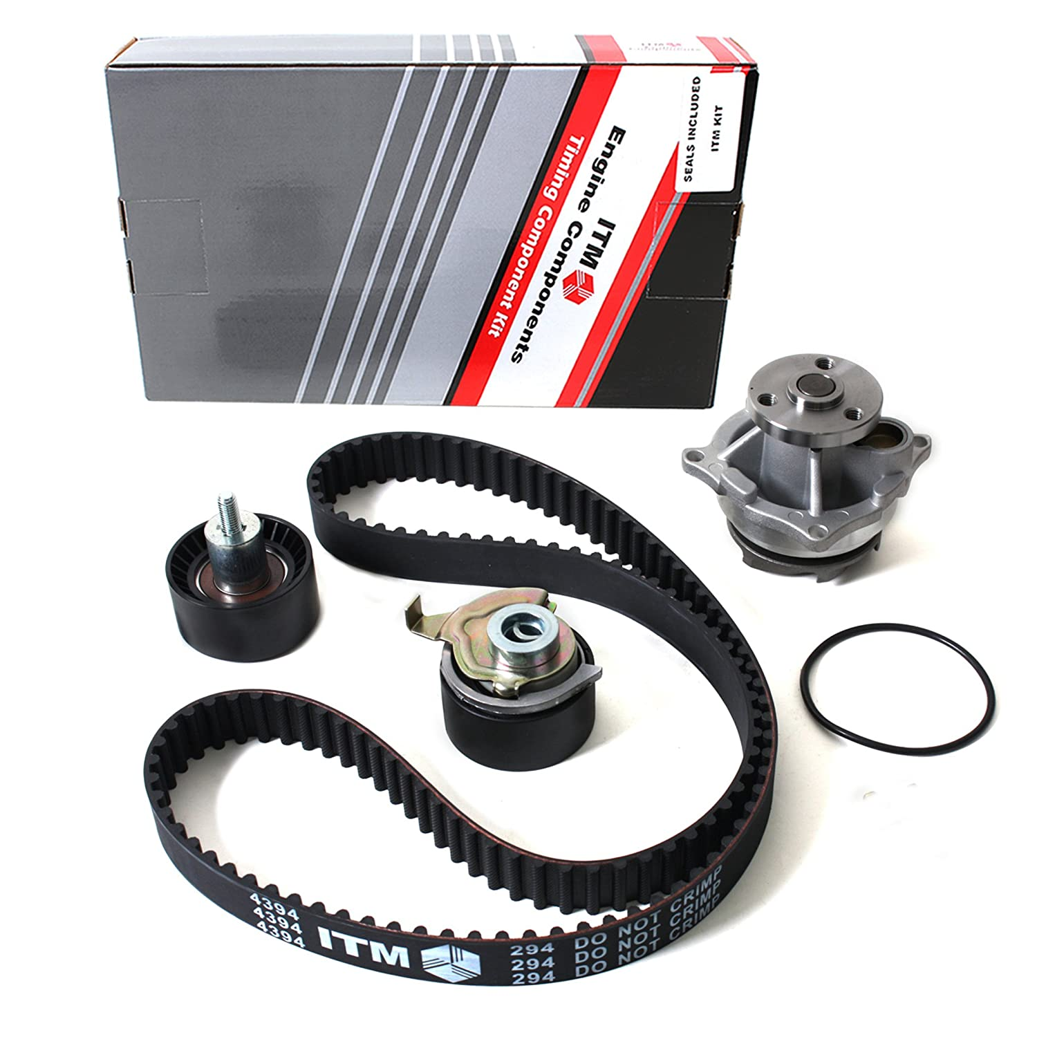 New Itm294bwp 129 Teeth Timing Belt Kit Water Pump 2002 Ford Focus Timming Engine Mechanical Problem Set For 01 04 Mazda 20l Dohc Zetec Vin Code B 3 5 Sohc Will Not