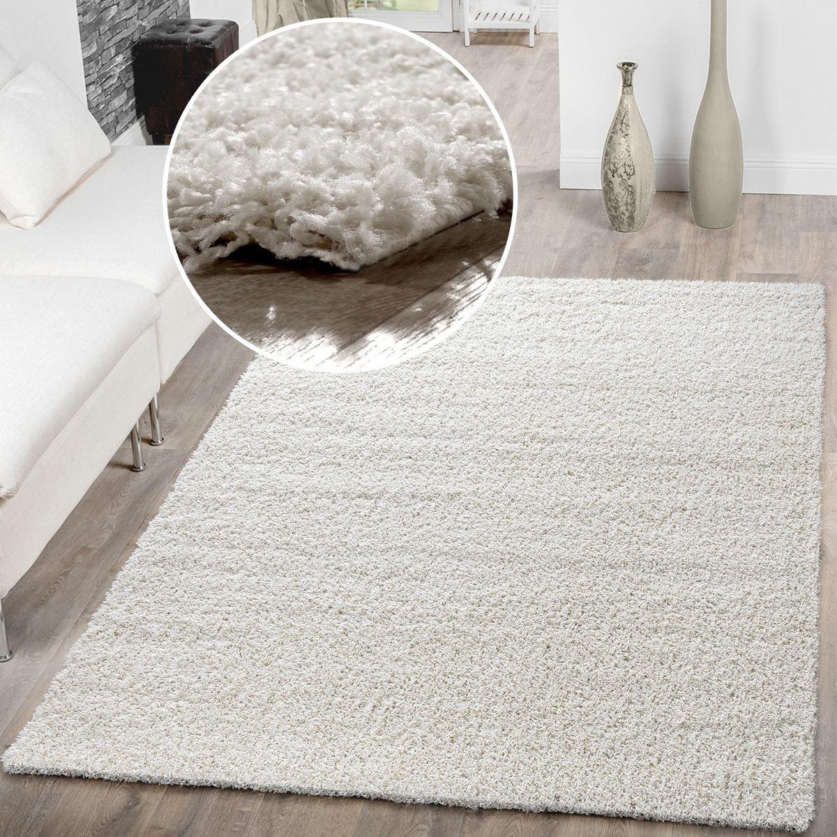T&T Design Alfombra Shaggy De Pelo Largo para Salón A Precio Inmejorable, Größe:40x60