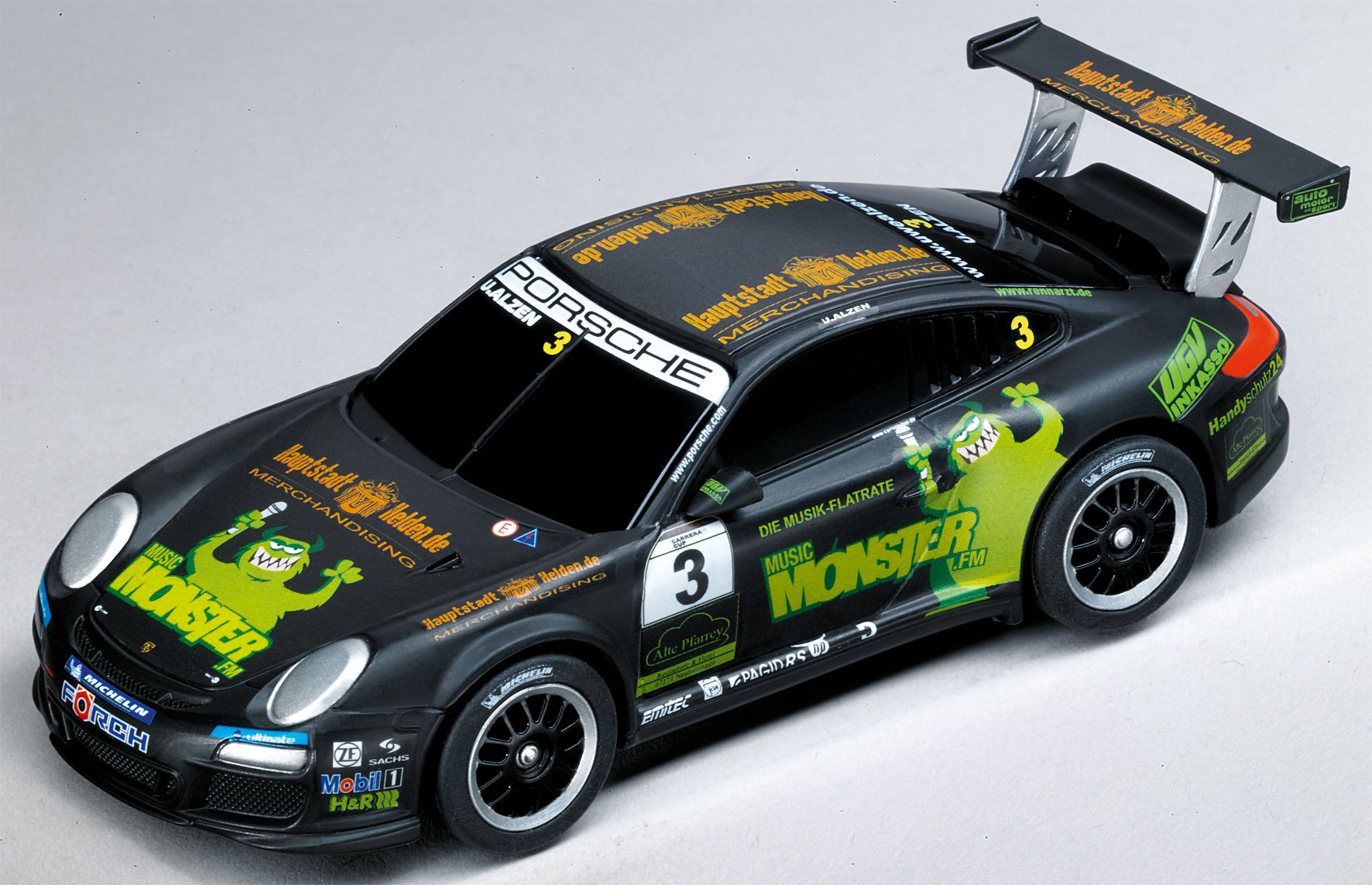 Carrera GO!!! Analog Slot Car Racing Vehicle - 61216 Porsche GT3 Cup Monster FM U.Alzen - (1:43 Scale) by Carrera
