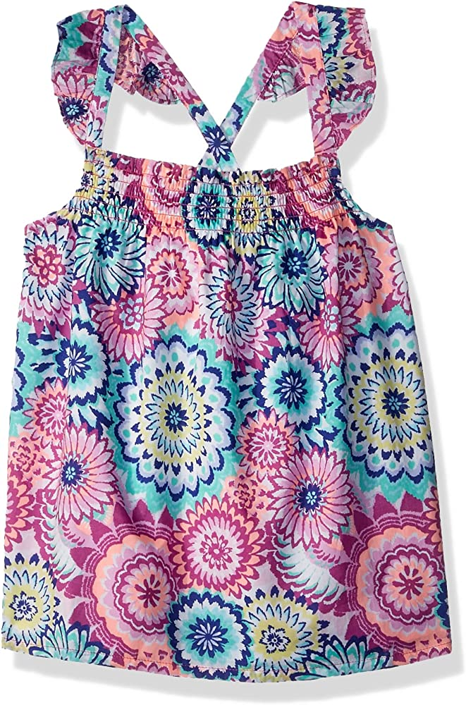 Gymboree Little Girls 2-Piece Tankini Floral Print