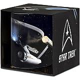 Star Trek - USS Enterprise Porzellan Tasse - Kaffeebecher - farbig - Lizenziertes Originaldesign - LOGOSHIRT