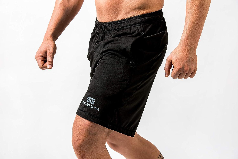 Satire Gym Pantaloni Sportivi Corti Uomo Fitness Loose Fit Shorts