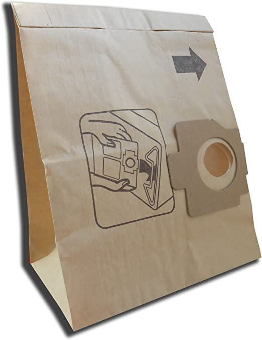 10 bolsas para aspiradora Moulinex Classic de serie, Clean de serie, Privileg 065.248, 066.231, 069.579, 069.580, 102.023: Amazon.es: Hogar