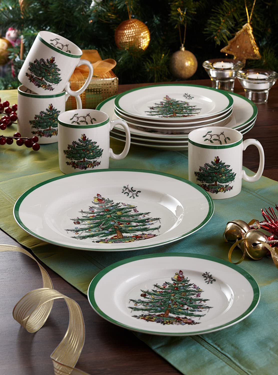 Mugs coordinate beautifully with Spode's extensive line of dinnerware and serveware