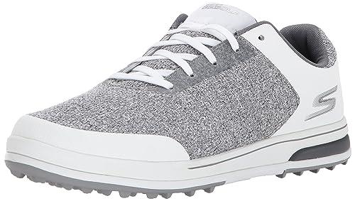 a729b58862 Skechers New Mens Go Golf Elite V3 SP Golf Shoes 54540 White/Gray Sz 8