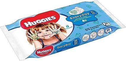 Huggies HandsTravel Pack - Toallitas para bebé, 24 unidades ...
