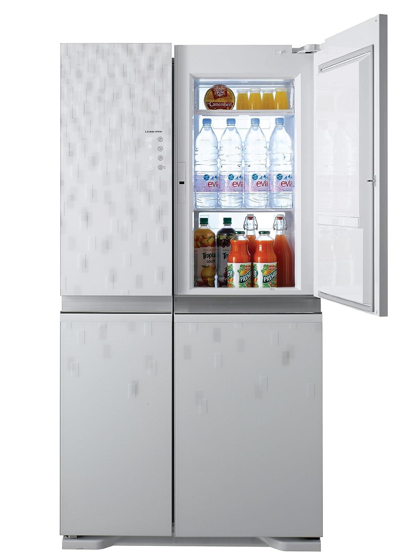 Küche mit amerikanischem kühlschrank  LG GS9566MNAV Side-by-Side Kühl-Gefrier-Kombination (A+, 386 L ...