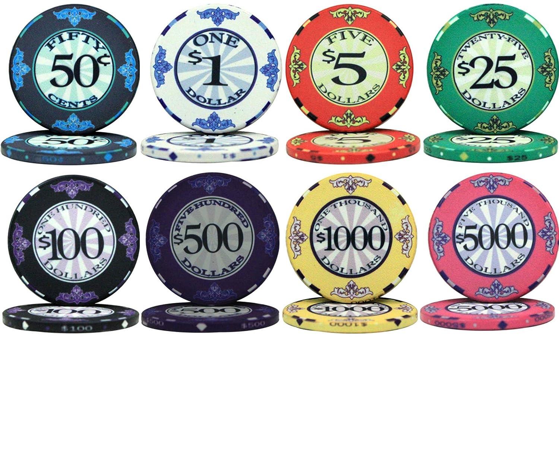 スクロールデザインセラミック10 B00XUXNG3C gm Chips 1000バルクPoker Chips – Choose Choose B00XUXNG3C, 具志頭村:912e5b04 --- itxassou.fr