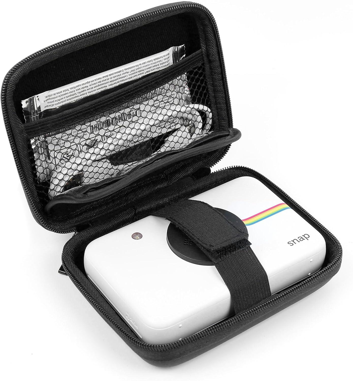 DURAGADGET Funda Rígida Negra para Cámara Digital Polaroid Snap Touch: Amazon.es: Electrónica