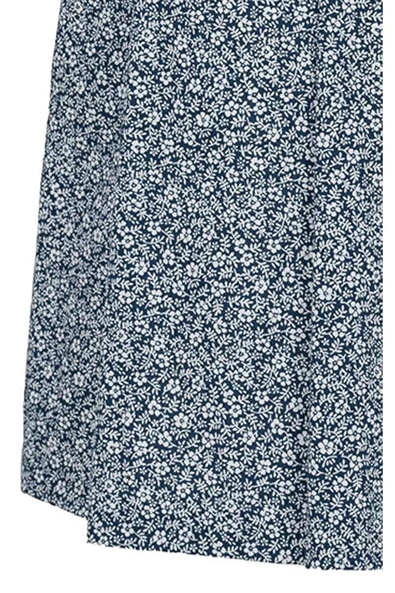 GISMARA Spieth /& Wensky Damen Trachten-Rock mit Blümchenmuster blau Blau