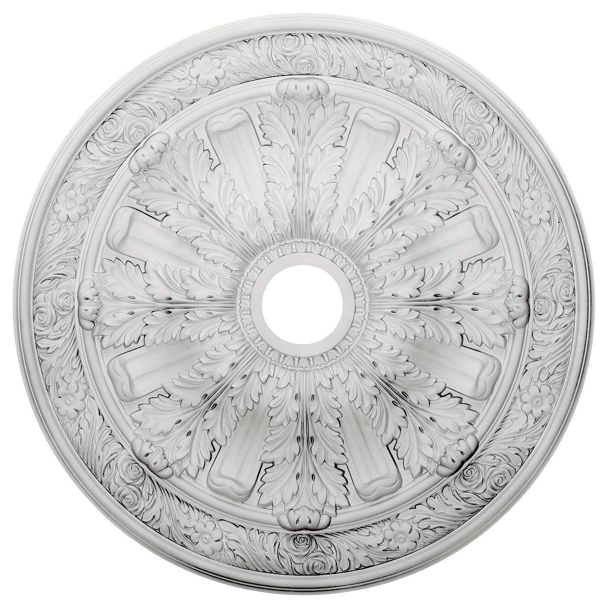 Ekena Millwork CM30FL 30 OD X 3 7//8 ID X 3 1//4 P Flagstone Ceiling Medallion