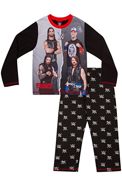 WWE Boys World Wrestling Entertainment Pyjamas