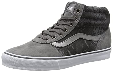 c4d03ea82a Vans Women s Milton Hi-Top Sneakers  Amazon.co.uk  Shoes   Bags