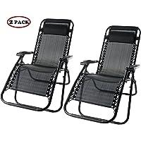 2-Set Merax Zero Gravity Patio Chair