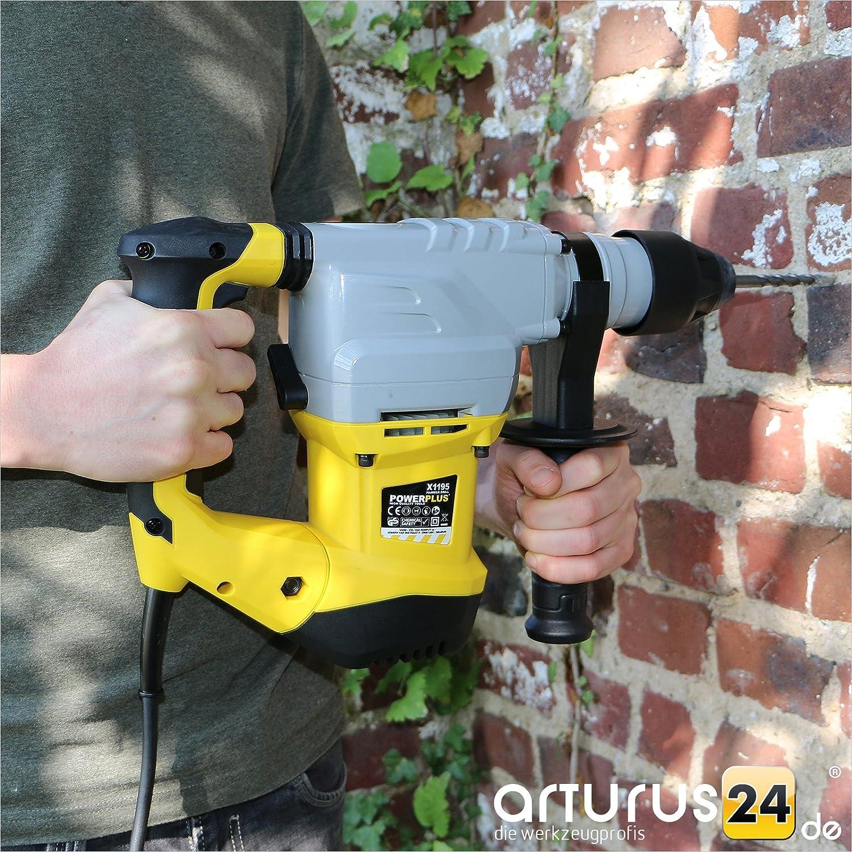 PowerPlus POWX1195 Martillo Percutor 1500W: Varo: Amazon.es: Bricolaje y herramientas