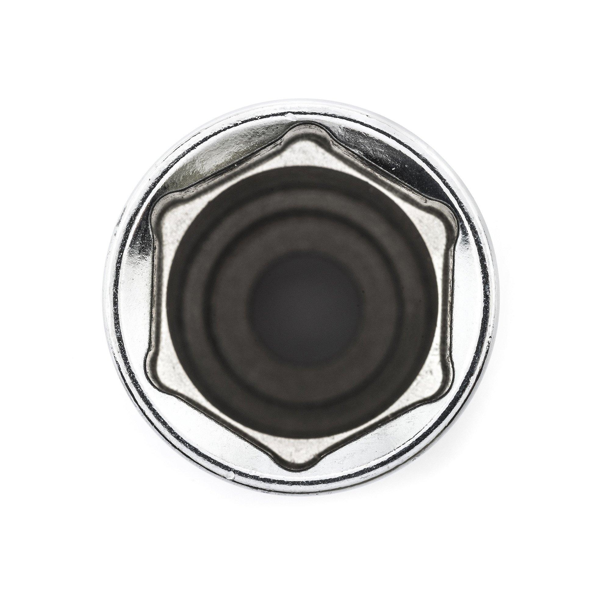 GearWrench 80554 14 Piece 3/8-Inch Drive 6 Point Deep Metric Socket Set