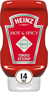 product image for Heinz Tomato Ketchup with Tabasco (14 oz Bottle, Pack of 6)