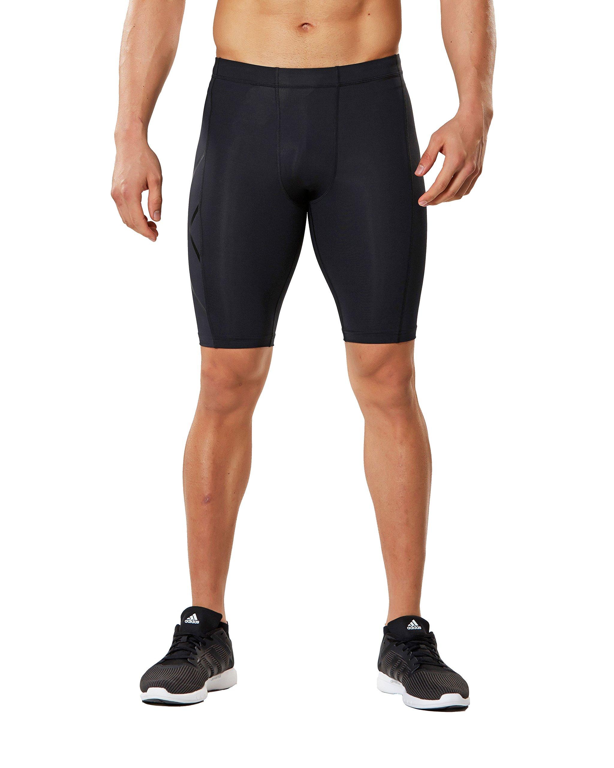 2XU Men's Core Compression Shorts, Black/Nero, Medium by 2XU (Image #2)