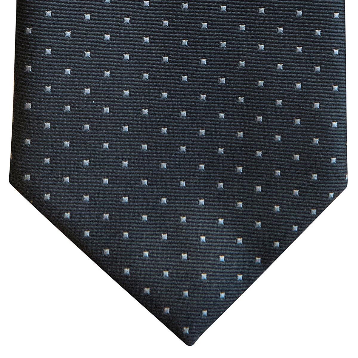 Retreez Pin Dots Woven Microfiber Boy's Tie (8-10 years) - Grey with Light Grey Pin Dots by Retreez (Image #2)