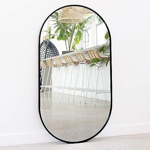 Oval Mirror Full Length Mirror