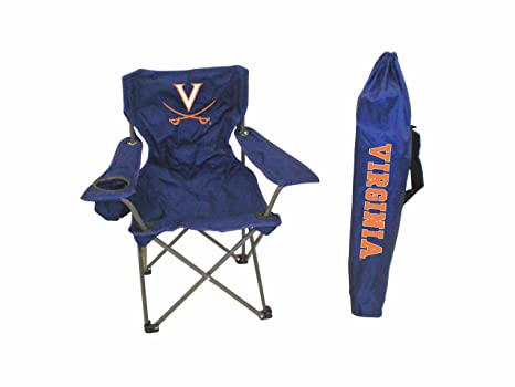 Phenomenal Amazon Com Virginia Cavaliers Kids Tailgating Chair Unemploymentrelief Wooden Chair Designs For Living Room Unemploymentrelieforg
