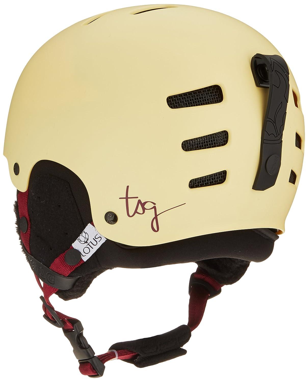 TSG Lotus Lotus Lotus Solid Farbe Helm B0747YCMKR Skihelme Leicht zu reinigende Oberfläche 8996aa