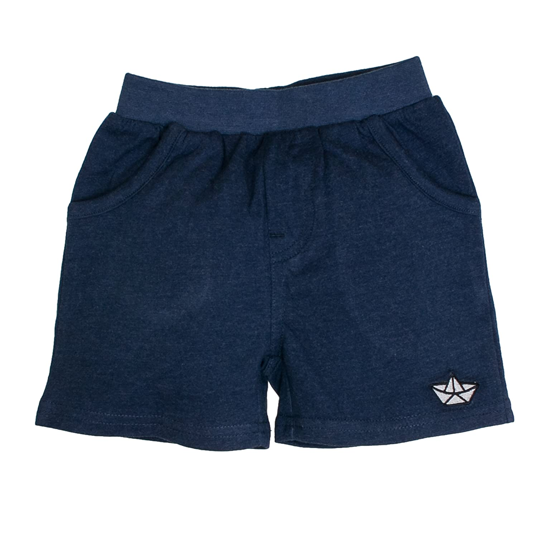 SALT AND PEPPER Baby - Jungen Shorts B Bermuda Pirat Uni Blau (Ink Blue Melange 481) 68 83216135