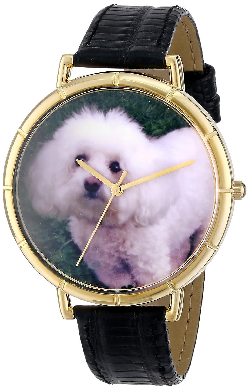 Whimsical Watches N-0130010 - Reloj analógico de Cuarzo Unisex, Correa de Cuero