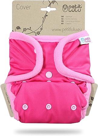   Klett Waschbar /& Wasserdicht One Size Windel/überhose Hergestellt in EU 4-15 kg Lila Stoffwindeln Petit Lulu Gr/ö/ße 2 PUL /Überhose Baby Regenbogen Windelhose