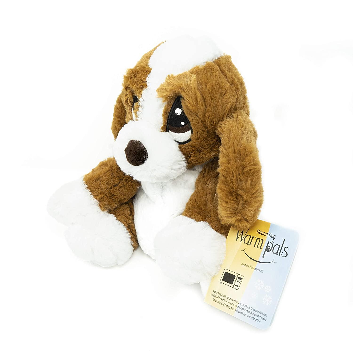 1i4 Group Warm Pals Microwavable Lavender Scented Plush Toy Stuffed Animal - Hound Dog