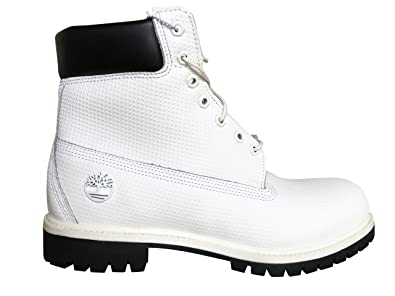 "f3804a45e9 Timberland Men's 6"" Premium Waterproof Boot (11.5 D(M) US, White"