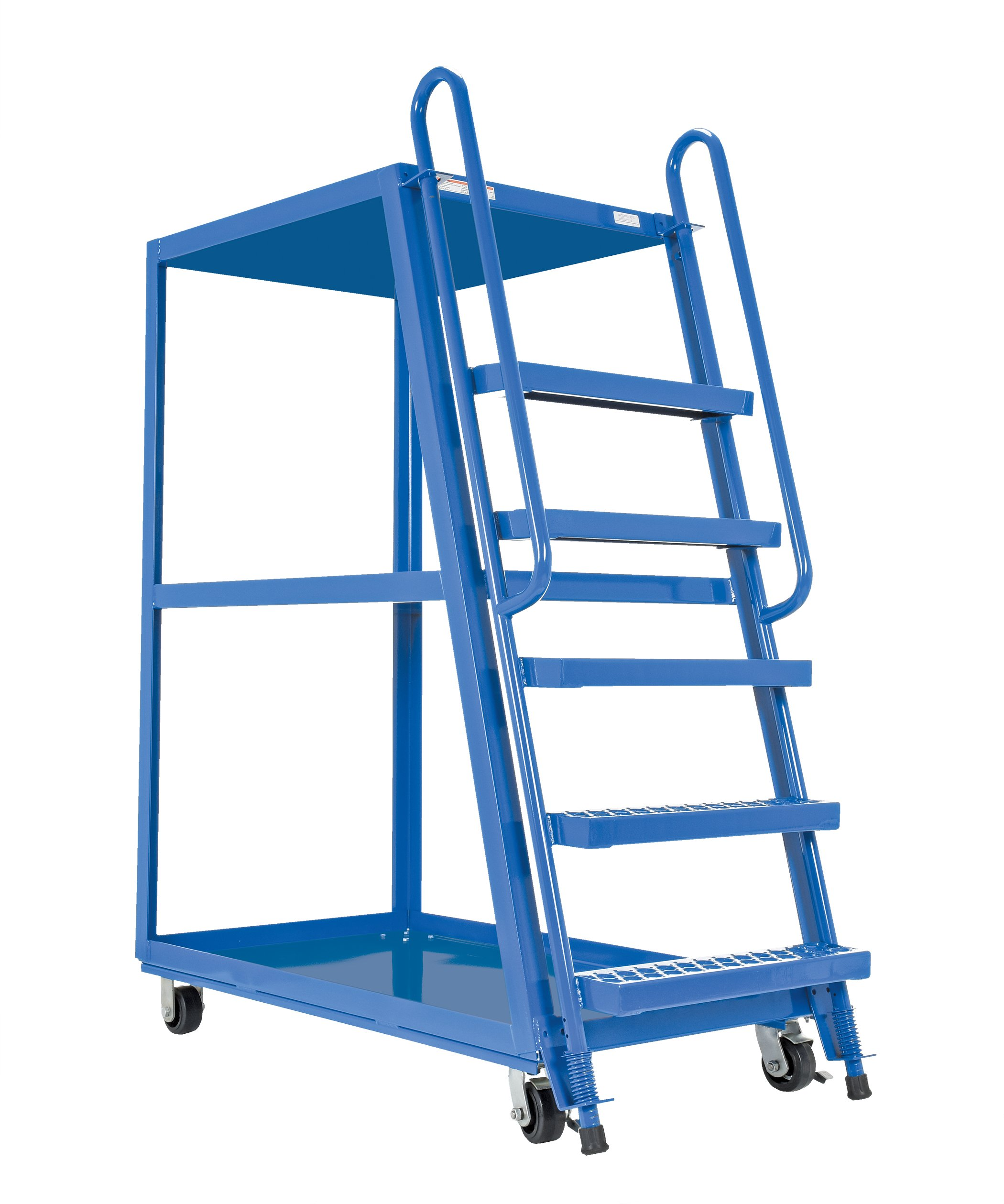 Vestil SPS-HF-2852-6MR Rubber-on-Steel High Frame Cart, 27.5'' x 51''