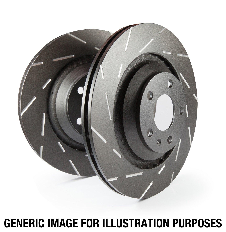 EBC Brakes USR930 USR Series Sport Slotted Rotor